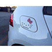 大人気キティちゃん ステッカー  簡単貼り付け 自動車やお部屋のガラスに