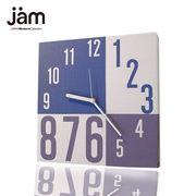 優しい風合いでオシャレでモダンなファブリック掛け時計 全9種 (No.2)