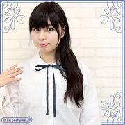 1210G●■送料無料■ スクール紐タイ単品 色:紺 サイズ:フリー