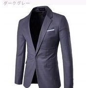 ビジネス レジャー スーツ バックル スーツ アウターウェア 男性服装 カラー
