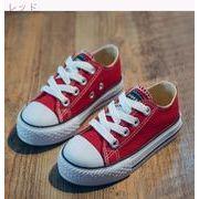児童 キャンバスシューズ アッパー低い 靴 春バージョン ひもあり 小 男児 女児 スケ