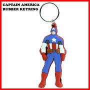 ラバーキーチェーン キャプテンアメリカ