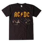 ヴィンテージ風 ロックTシャツ AC DC エーシー ディーシー ライブ