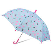 [55cm]傘 キッズ 子供用 ジャンプ傘 女の子 ラブリーキャッツ柄