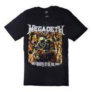 ロックTシャツ Megadeth メガデス HELD HOSTAGE BY OIL FOR FOOD