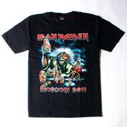 ロックTシャツ Iron Maiden アイアン メイデン Moscow 2011