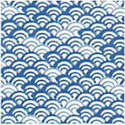 【ご紹介します!和柄で人気のプリント手ぬぐい!小紋調】青海波