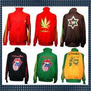 【即納OK】  ◆秋から春にかけての超売れ筋ジャケット◆メンズジャージジャケット5型(M&Lサイズ)★