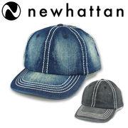 NEWHATTAN DENM CONTRAST STICHING CAP  15496