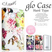 Charis HIGH FIVE glo ハード スリーブケース ボタニカル花柄 3カラー