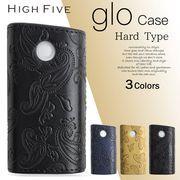 HIGH FIVE glo ハード スリーブケース ペイズリーフラワーデザイン 3カラー