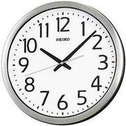 SEIKO セイコー 掛け時計 アナログ 防湿・防塵型 オフィスタイプ 金属枠 KH406S