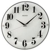 SEIKO セイコー 掛け時計 アナログ 白 KX608W