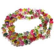 天然石 ビーズライン 卸売/マルチカラー水晶(Multicolor quartz) チップビーズ(さざれ)