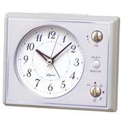 SEIKO セイコー 目覚まし時計 アナログ マルチサウンドアラーム ピンク NR445H