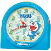 SEIKO セイコー 目覚まし時計 ドラえもん おしゃべりアラーム アナログ 青 CQ137L