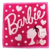 Barbie ミニタオル シルエット 23005076