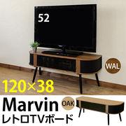 【離島発送不可】【日付指定・時間指定不可】Marvin レトロTVボード OAK/WAL