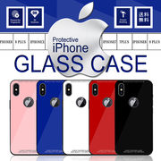 f78aa51c9f 株式会社 ハルコ · アップルロゴ ガラスケース iPhoneX iPhone7 /7 Plus 8 /8 Plus 9H強化ガラス