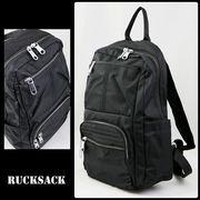 リュック 鞄 リュックサック 黒 ブラック 開きやすい 大容量 トレッキング レディース メンズ