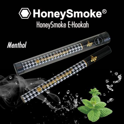 使い捨て電子タバコ・ハニースモーク(Honey Smoke)・メンソール・千鳥格子