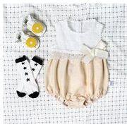 春★スタイル★ベビーロンパース ★カバーオール+ボウシ