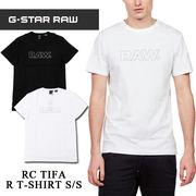 ◇2018春夏新作◇G-STAR RAW ジースターロウ メンズ RAW センターロゴ Tシャツ<2カラー>