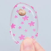 韓国メイク小物 ゼリーパフ ジェリーパウダー かわいい花柄 メークパフシリコンジェルスポンジ