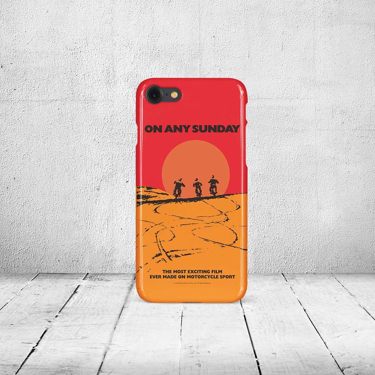 【ブルース・ブラウンフィルム】iPhone7 & 8ケース・On Any Sunday (オンエニーサンデイ)・サン