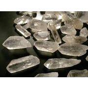 クリスタル 天然水晶 原石 ポイント 300g~1kg 量り売り クォーツ Crystal Quartz