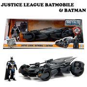 2017 JUSTICE LEAGUE BATMOBILE W/BATMAN【バットモービル】【JADA ミニカー】
