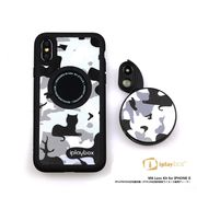 Revolver M6 Len Kit 6in1 iphoneX -IPLAYBOX ZTYLUS スピードレンズカメラ切り替え Black White Kitty