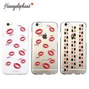 【Honeyelephant】 Lip case for iPhone6s/6  リップ 柄 口紅 おしゃれ ケース スマホ 着せ替え