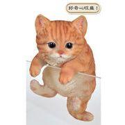 つぶらな瞳がとってもキュートな子猫の置物【 タイニーキャット 】