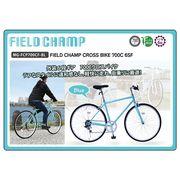 (在庫限り)FIELDCHAMP CROSSBIKE 700C 6SF ブルー 品番MG-FCP700CF-BL(代引不可)