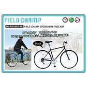 (在庫限り)FIELDCHAMP CROSSBIKE 700C 6SF ブラック 品番MG-FCP700CF-BK(代引不可)