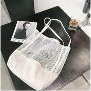 透かし彫り トートバッグ おしゃれで便利 INS 人気商品  2色