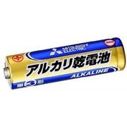 三菱 乾電池 単3 アルカリ 電池 1本(シュリンクパック)