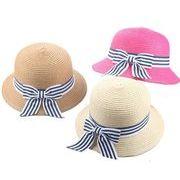 2018年新作★夏季新作 ★ビーチ用★子供用帽子★麦わら帽子★遠足帽子★防UV帽子★5色