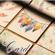 BLHW156575◆5000以上【送料無料】◆ディスプレイ用品・ピアス用・アクセサリー展示用カード