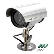 (防災・防犯)(防犯グッズ)防犯LED点滅ダミーカメラ ADC-209