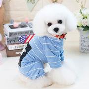 可愛い新品暖かいバーカ ペット服 犬服棉 シヤツ
