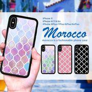 耐衝撃 iPhone ケース iPhone8ケース スマホケース モロッカン エスニック 西海岸 ブランド