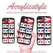 iPhone 7 8 X ケース フルーツ ロゴ ベリー BERRYBERRY