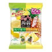 ぷるんと蒟蒻ゼリーパウチ グレープフルーツ+パイナップル