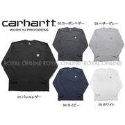 S) 【カーハート】 RN14800 K126 Tシャツ ワークウェア ポケット ロングスリーブ 全5色 メンズ