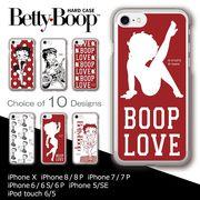iPhone 7 8 X スマホケース ハードケース ベティー ブープ(TM) ベティ-ちゃん キャラクター