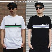2018 春★ROCAWEAR★ロカウェア メンズ スクリーンプリント Tシャツ