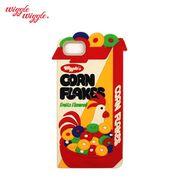 【Wiggle Wiggle 正規品】 [iPhone8対応] iPhone7 6S 6 シリコンケース (corn flake) コーンフレーク