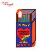 【Wiggle Wiggle 正規品】 [iPhone8対応] iPhone7 6S 6 シリコンケース (match) マッチ